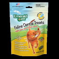 Emerald Pet Cat Dental Treat 3oz - Chicken