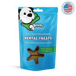 Bristly Pre-Biotic Enzymatic Dental Treats 475g - Beef Flavour