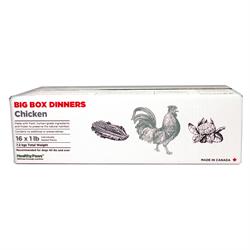 Healthy Paws Big Box Dinner Chicken and Veg 16 x 1 lb