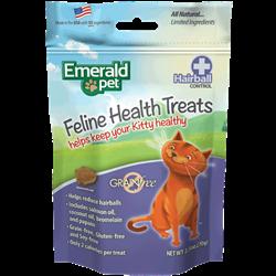 Emerald Pet Feline Health Chews Hairball Formula 2.5oz - Chicken