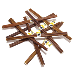 """Super Can 12"""" Standard Bully Stick Odour Free (50/bag)"""