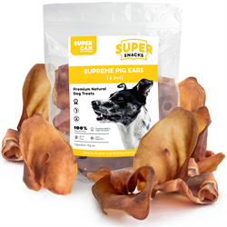 Super Can Pig Ears Odour Free (6/bag)