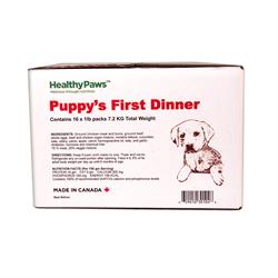 Healthy Paws Big Box Dinner Puppy Chicken and Veg 16 x 1 lb