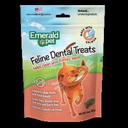 Emerald Pet Cat Dental Treat 3oz - Salmon