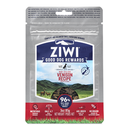 ZIWI Venison Dog Treat Pouches 85.2g