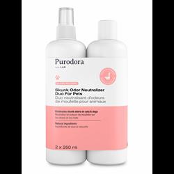 Purodora Labs Skunk Odour Neutralizer Duo for Pets 250 ml
