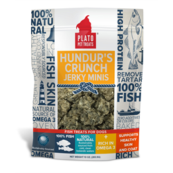 Plato Pet Treats Hundur's Crunch Jerky Minis 283g