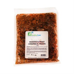 Healthy Paws Ground Orange Vegetables and Fruit 1 lb