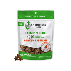 Shameless Pets Crunchy Cat Treats 71g - Catnip N Chill