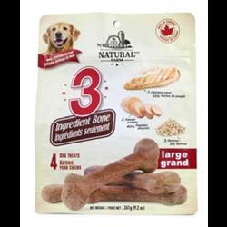 Omega Paw Natural Farm 3 Ingredient Bones 260g - Large