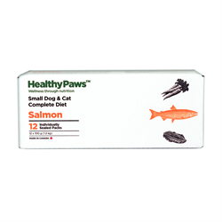 Healthy Paws Complete Dog & Cat Dinner Salmon 12 x 100g