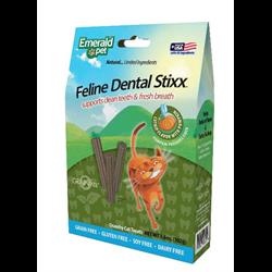 Emerald Pet Cat Dental Stixx 3.6oz - Catnip