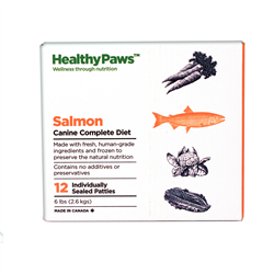 Healthy Paws Complete Dog Dinner Salmon 12 x 1/2 lb