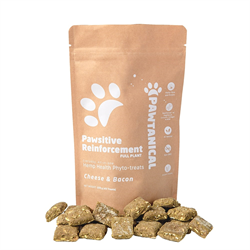 Pawtanical Pawsitive Reinforcement Phyto Treat 150g - Cheese & Bacon