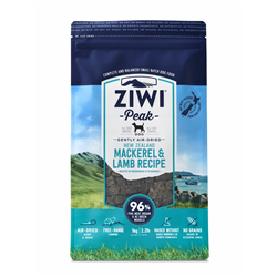 ZIWI Mackerel & Lamb Air Dried Dog Food 1kg
