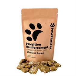 Pawtanical Pawsitive Reinforcement Hemp Health Treat 150g - Cheese & Bacon