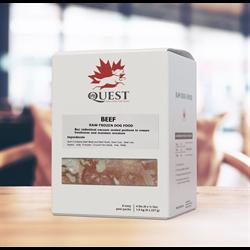 Pets4Life Quest Raw - Beef - 20 lb (40 x 8oz)
